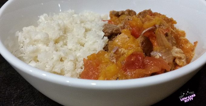 Recipe: Low Carb Lamb Stew