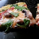 Recipe: Spinach Pizza with Low Carb Pizza Crust