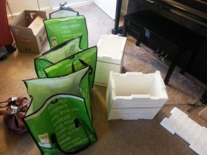 Amazon Fresh Review - Packaging