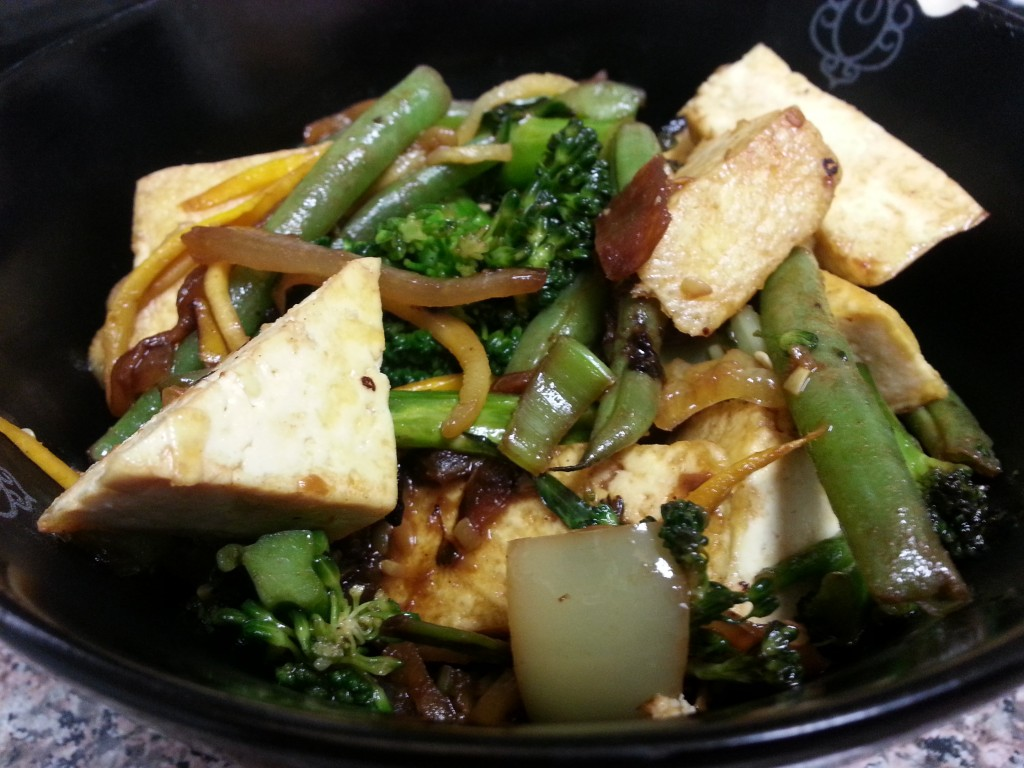 Low Carb Vegetarian Stir Fry