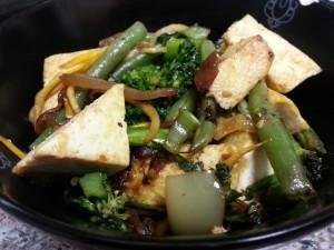 Low Carb Vegetarian Stir Fry