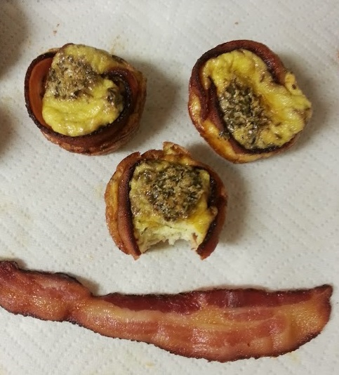 Recipe: Bacon Egg Muffins
