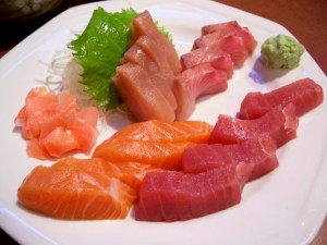 Sashimi - Ultimate low carb sushi