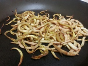 Sauteed Eggplant Noodles