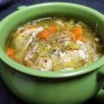 Recipe: Low Carb Chicken Soup with Noodles