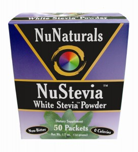 NuStevia 50 Packets NuNaturals Stevia