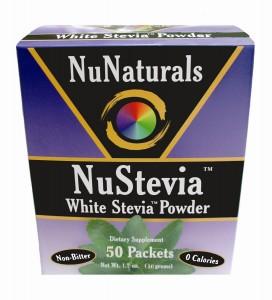 NuStevia 50 Packets NuNaturals Stevia